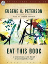 Eat This Book (MP3): A Conversation In The Art Of Spiritual Reading